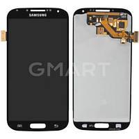 Дисплей Samsung I9500 Galaxy S4 черный (LCD экран, тачскрин, стекло в сборе), Дисплей Samsung I9500 Galaxy S4 чорний (LCD екран, тачскрін, скло в