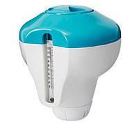Поплавок дозатор 2 в 1 с термометром Intex 29043