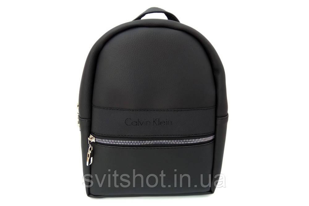 0f296abe3f6f Женский рюкзак CALVIN KLEIN, стильный портфель КЕЛЬВИН КЛЯЙН, цвет черный,  ...