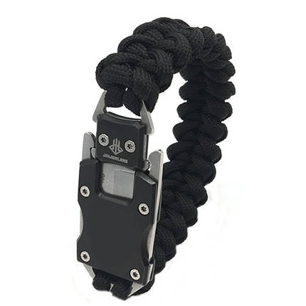 На открытом воздухе для выживания Многофункциональный EDC нож Gadget Парашютный веревочный браслет Удобный для чрезвычайной ситуации - 1TopShop, фото 2