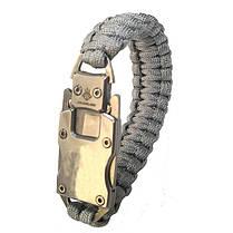 На открытом воздухе для выживания Многофункциональный EDC нож Gadget Парашютный веревочный браслет Удобный для чрезвычайной ситуации - 1TopShop, фото 3