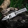 На открытом воздухе для выживания Многофункциональный EDC нож Gadget Парашютный веревочный браслет Удобный для чрезвычайной ситуации - 1TopShop, фото 4