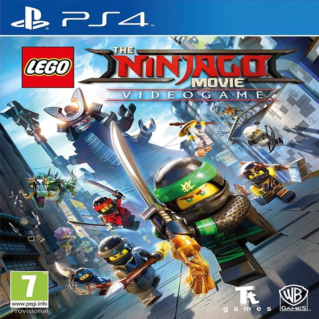 Lego Ninjago Movie Videogame SUB PS4 (NEW)