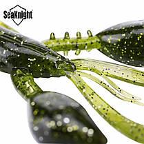 SeaKnightSL0196pcs10g101.5mm/ 4 '' Soft Рыбалка Lure Worm Swinging Tail Рыбалка Bait - 1TopShop, фото 3