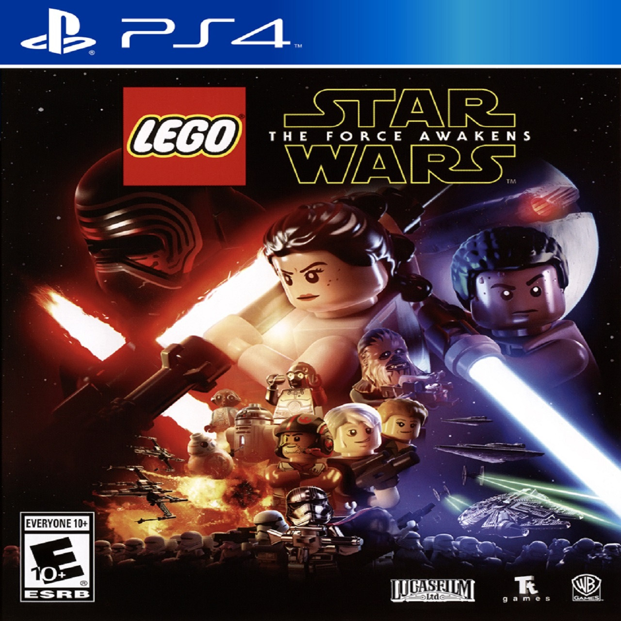 Lego Star Wars The Force Awakens SUB PS4