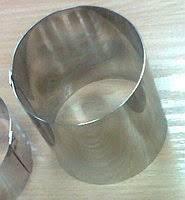 Форма кондитерська Steelay кругла d7,5 см h7 см нержавійка (зерк 75/70)
