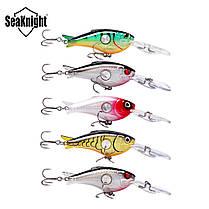 SeaKnight SK003 1PCS прикормы Плавающий 1.8M-3.9M 55мм 10г Crank Искусственная Жесткий Рыбалка Bait - 1TopShop, фото 2