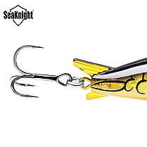 SeaKnight SK003 1PCS прикормы Плавающий 1.8M-3.9M 55мм 10г Crank Искусственная Жесткий Рыбалка Bait - 1TopShop, фото 3
