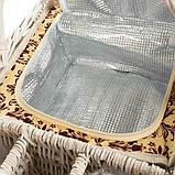 Корзинка для пикника (42*30*20 см) 2 персоны (009PPN), фото 2