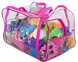 Сумка в роддом/для игрушек ORGANIZE K005 розовый