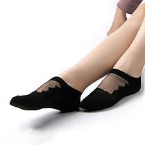 Женское Пустотелый дышащий хлопок Кружева Низкий разрез Спортивный Non Slip Sock - 1TopShop, фото 3