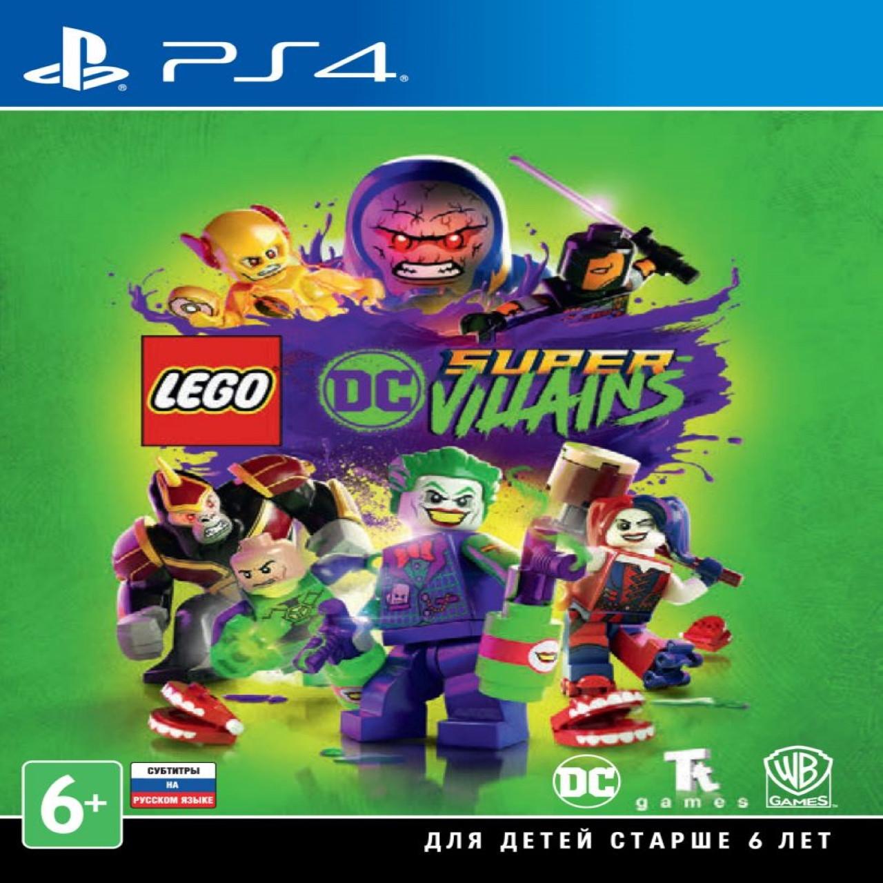Lego DC Super Villains SUB PS4 (NEW)