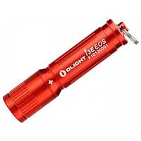 Фонарь Olight LED I3E-TX красный с батарейкой (I3E-RED)