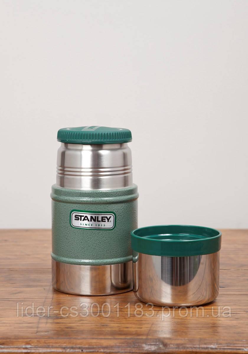 Термос для обедов зеленый 0.5L Classic Stanley (Стенли) 10-00811-010