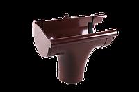 Ливнеприемник левый 130/100 мм. Водосточная система Profil