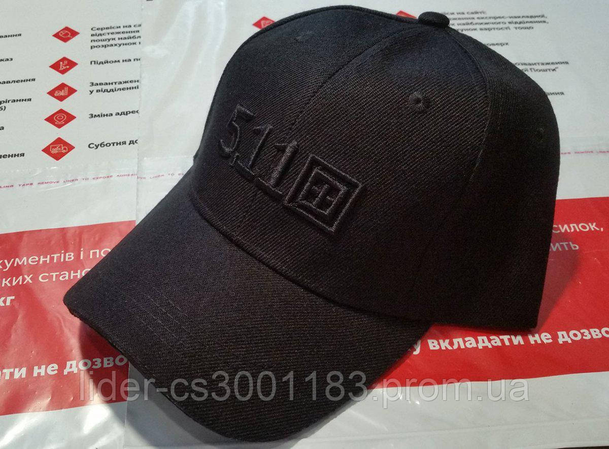 Бейсболка 5.11 с логотипом 93 Black