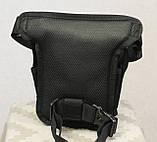 Тактическая универсальная (набедренная) сумка Swat Black, фото 8