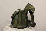 Тактическая универсальная (набедренная) сумка SWAT Olive (229-olive), фото 3