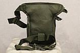 Тактическая универсальная (набедренная) сумка SWAT Olive (229-olive), фото 5