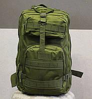 Тактический (городской) рюкзак Oxford 600D с системой M.O.L.L.E 40 л. Olive (ta40), фото 1