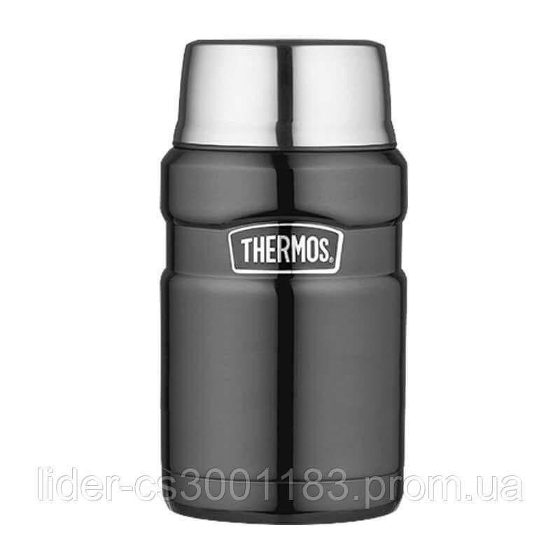 Термос Thermos Stainless King Food Flask, Gun Metal 710 ml 173034