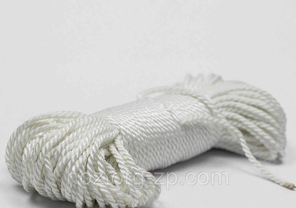 Верёвка лавсановая д.10 мм якорная,лодочная