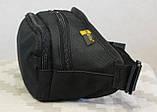 Сумка бананка (поясная сумка) с ремнём Black (407-BK), фото 3