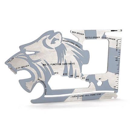 IPRee Портативная карта EDC Инструмент Карманный ножей Multitool Card Multifunctions Нержавеющая сталь Outdooors Survival - 1TopShop, фото 2