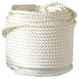 Верёвка (канат)  д.10 мм-2500кгс  якорная, лодочная(25м), фото 8