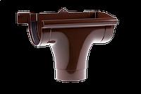 Ливнеприемник правый 130/100 мм. Водосточная система Profil