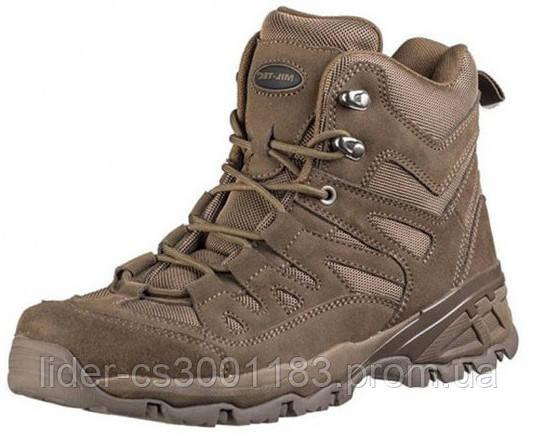 Тактические ботинки (берцы) MIL-TEC SQUAD STIEFEL 5 INCH Brown (12824009)