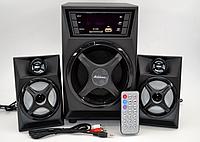 Колонки + сабвуфер 2.1 AiLiang USBFM-F32DC-DT (2x3 Вт + 10 Вт)