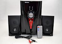 Колонки + сабвуфер 2.1 AiLiang USBFM-F35DC-DT (2x3 Вт + 10 Вт)