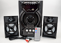 Колонки + сабвуфер 2.1 AiLiang USBFM-F34DC-DT (2x3 Вт + 10 Вт)