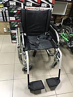 Неубиваемая, надежная инвалидная коляска производителя B&B ширина сидения 48 см., 125 кг б.у. Качество