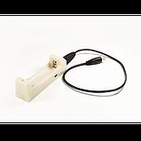 Зарядное устройство 1*18650 ML-102 + USB, фото 2