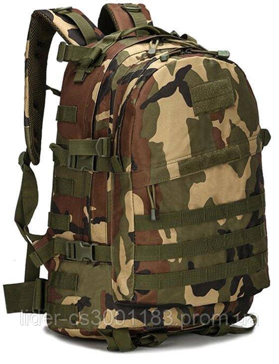 Тактический (военный) рюкзак Raid с системой M.O.L.L.E Woodland (601-woodland)