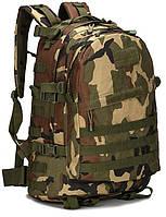 Тактический (военный) рюкзак Raid с системой M.O.L.L.E Woodland (601-woodland), фото 1