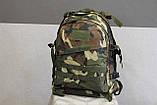 Тактический (военный) рюкзак Raid с системой M.O.L.L.E Woodland (601-woodland), фото 2