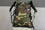 Тактический (военный) рюкзак Raid с системой M.O.L.L.E Woodland (601-woodland), фото 4