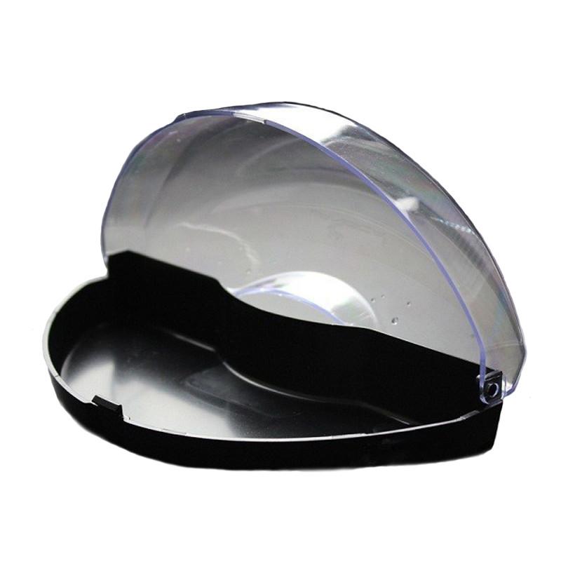 Плавающая стеклянная коробка стаканов пластмассы коробки годное для лиц обоего пола плавание таращит глаза защитная коробка - 1TopShop