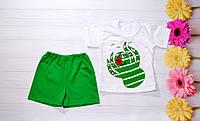 Детский Костюм на мальчика Осьминог Футболочка и шорты 2 и 4  года