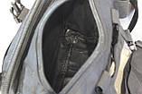 Тактическая универсальная (поясная, наплечная) сумка с системой M.O.L.L.E Black (104 черная), фото 3