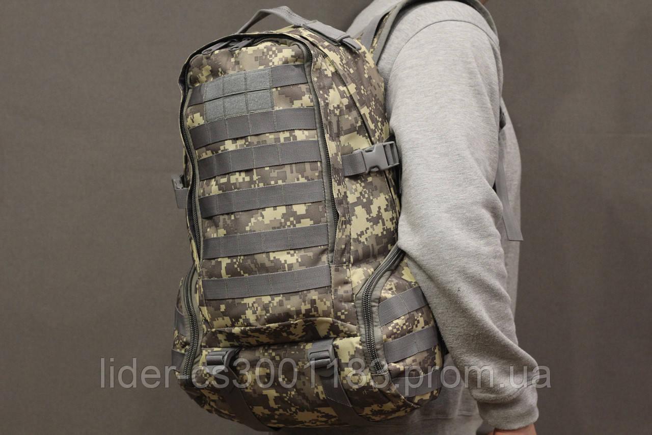 Тактический (городской, штурмовой) рюкзак Oxford 600D с системой M.O.L.L.E на 30 литров (ta30-pixel)