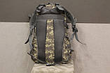 Тактический (городской, штурмовой) рюкзак Oxford 600D с системой M.O.L.L.E на 30 литров (ta30-pixel), фото 6