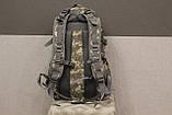 Тактический (городской, штурмовой) рюкзак Oxford 600D с системой M.O.L.L.E на 30 литров (ta30-pixel), фото 7