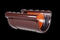 Соединитель желоба 130 мм. Водосточная система Profil