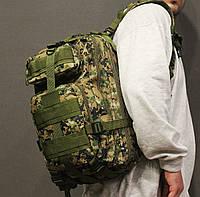 Тактический (городской) рюкзак Oxford 600D с системой M.O.L.L.E Pixel (ta25-dark-pixel)