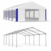 Павильон свадебный, торговый, гаражный 4x8 м PE 240 г/м²