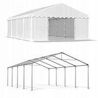 Павильон свадебный, торговый, гаражный 3x8 м PE (полиэтилен) 240 г/м²